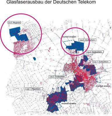 Telekom Glasfaserausbau Karte.Ftth